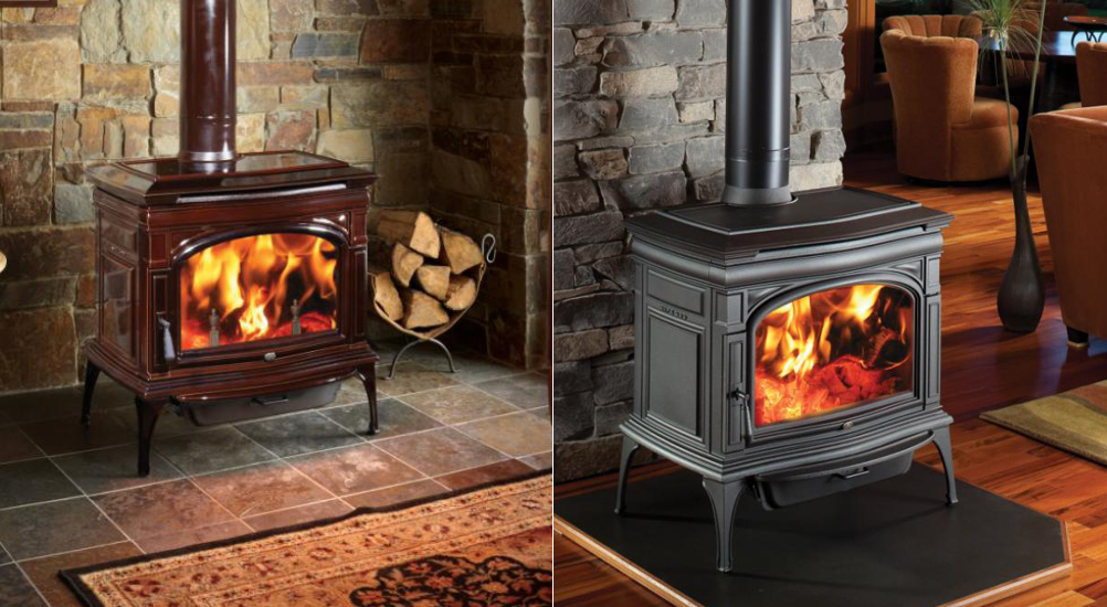Mountain home style for Small efficient wood stoves