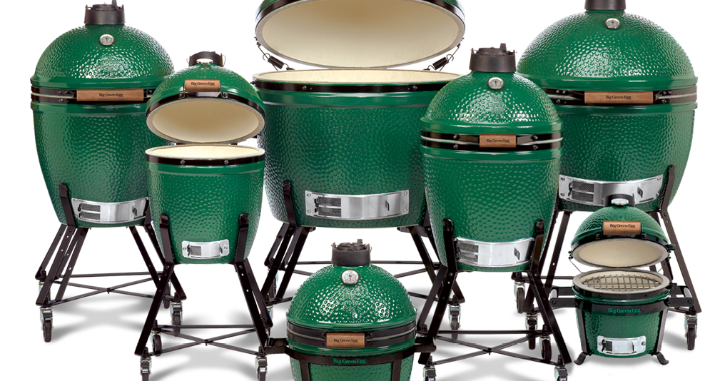 Big Green Egg Group of Grills